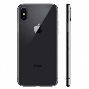 APPLE iPhone X, 64 GB, Space Gray (MQAC2ZD/A)