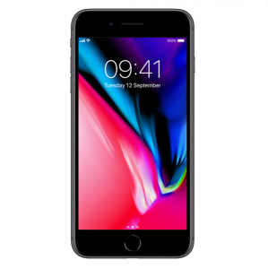 APPLE iPhone 8 Plus, 64 GB, Space Gray (MQ8L2ZD/A)